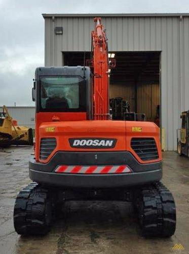 18,000 lb. Doosan DX85R-3 Hydraulic Excavator 5