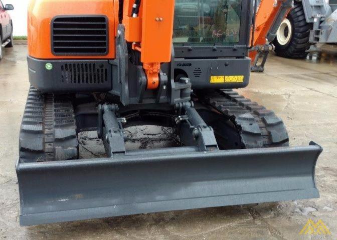 18,000 lb. Doosan DX85R-3 Hydraulic Excavator 6