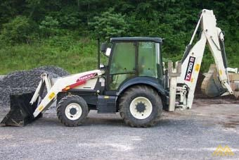 1t Terex TX750 Backhoe Loader 0