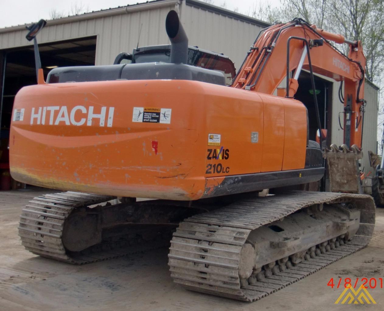 2013 HITACHI 210ZXLC-5 3