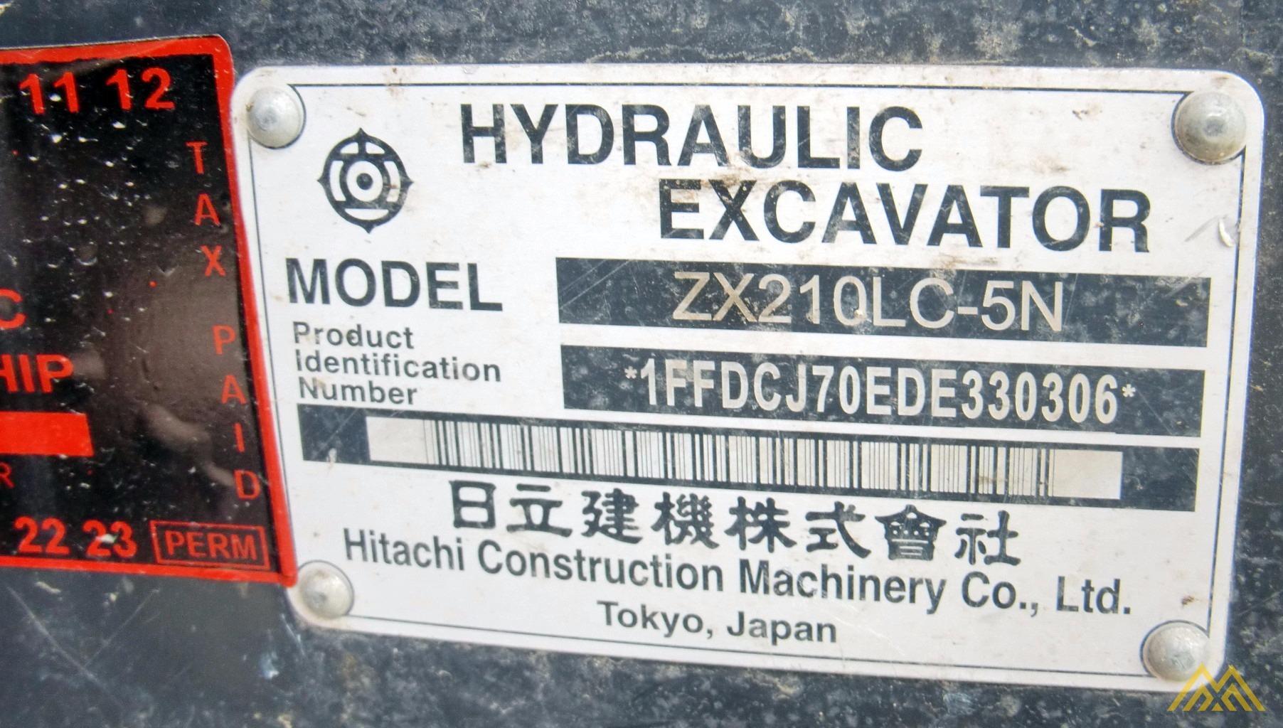 2013 HITACHI 210ZXLC-5 7