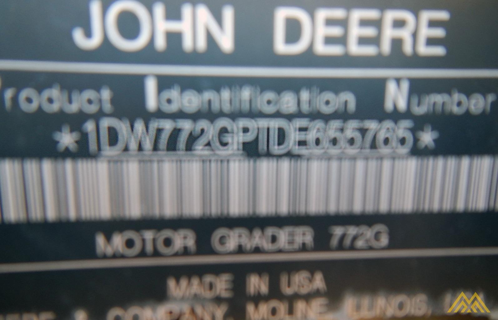 2013 JOHN DEERE 772G 10