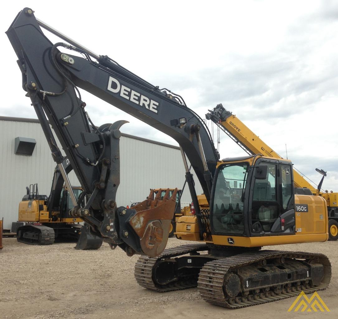 2014 John Deere 160glc Excavator Base For Sale John Deere