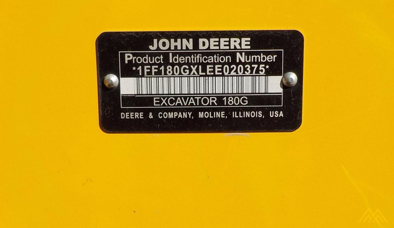 2014 JOHN DEERE 180G 10