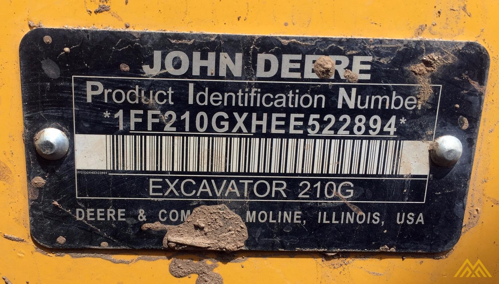 2014 JOHN DEERE 210G LC 9