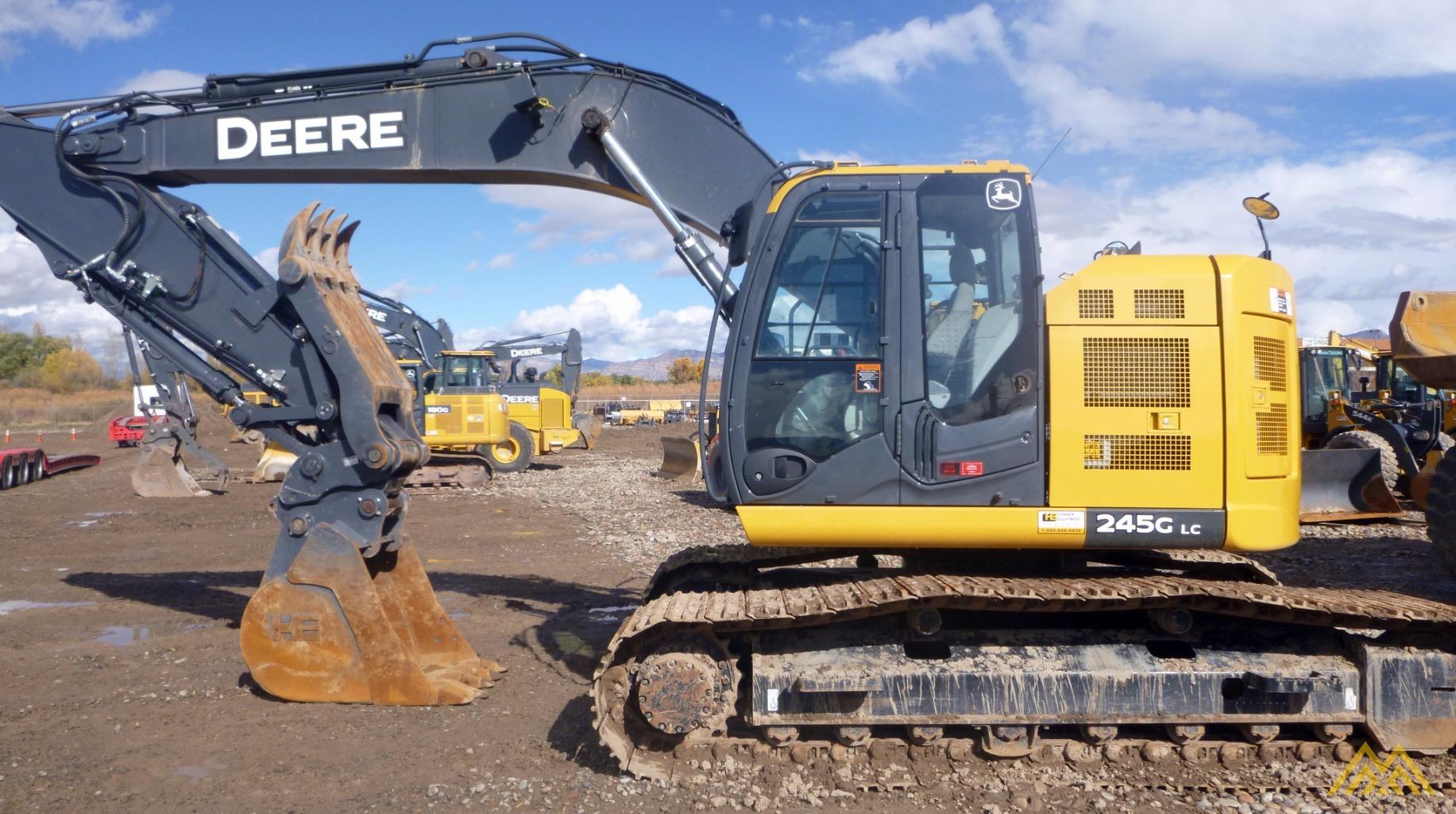 John Deere 245 Excavator Specs : John deere g for sale or rent