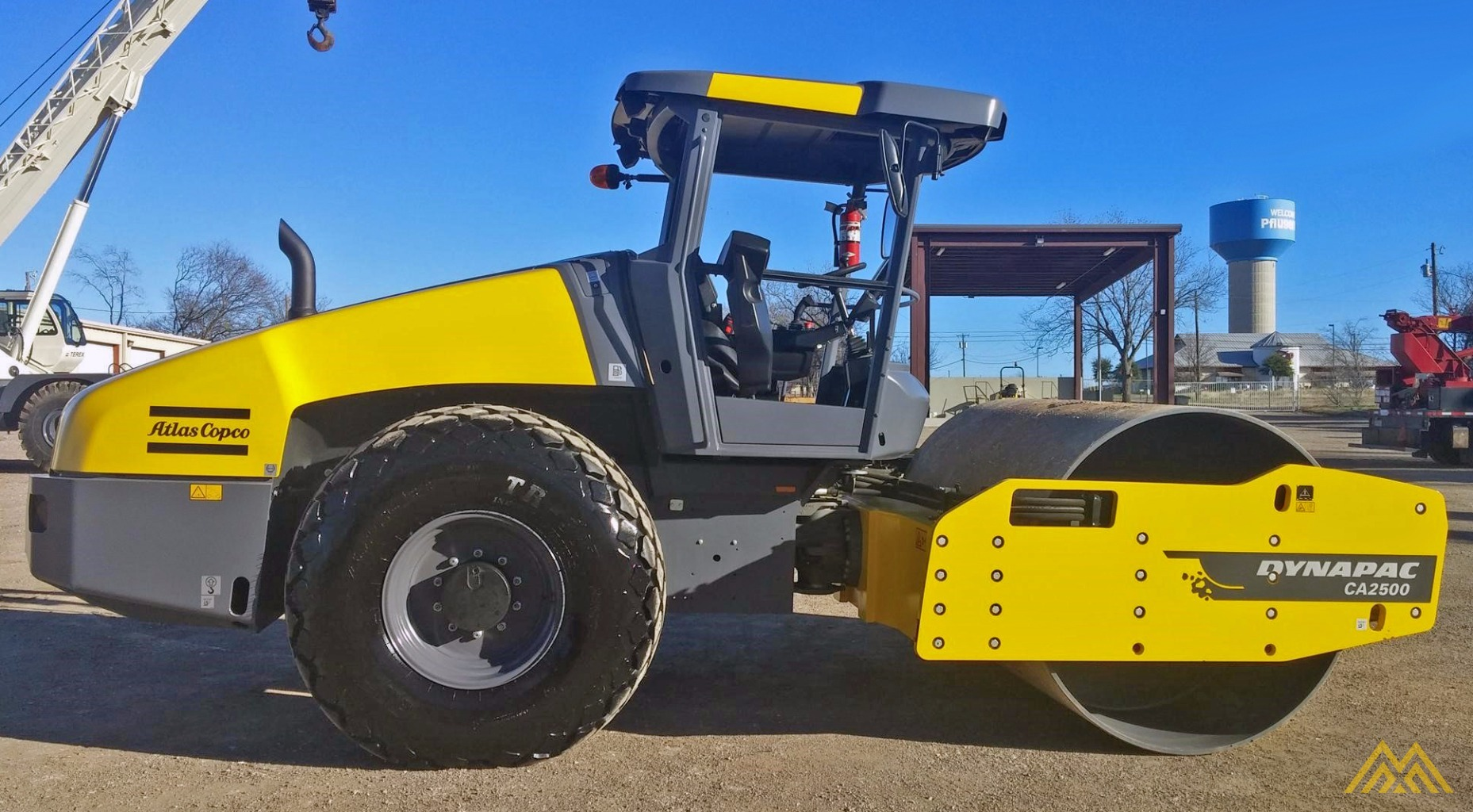 2015 Dynapac CA2500D Compact Roller 1