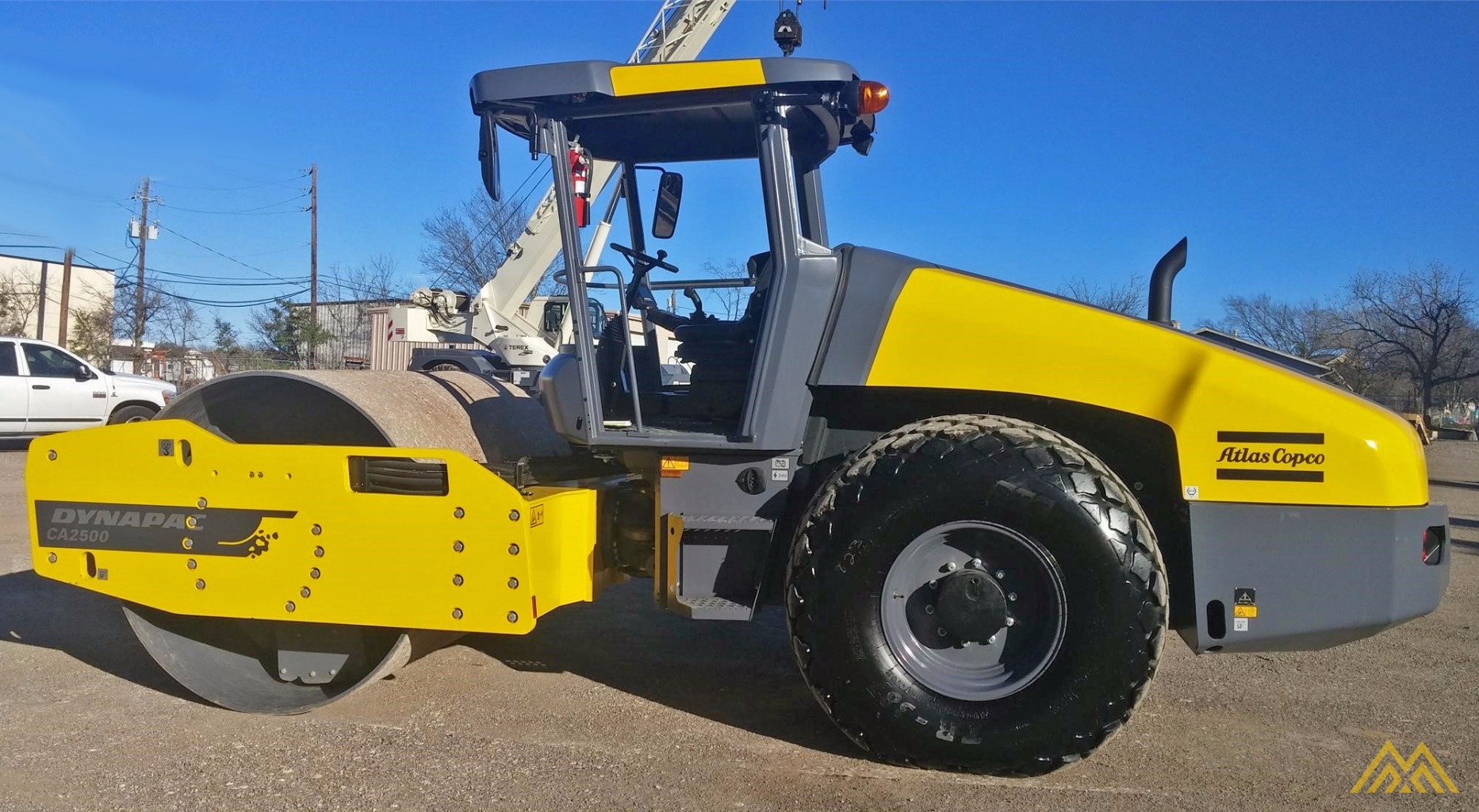 2015 Dynapac CA2500D Compact Roller 2