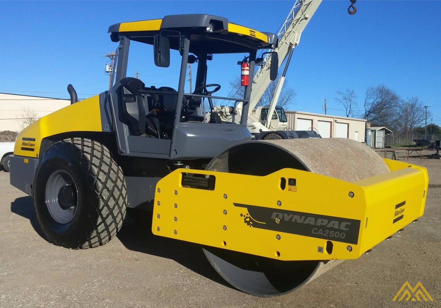 2015 Dynapac CA2500D Compact Roller 4