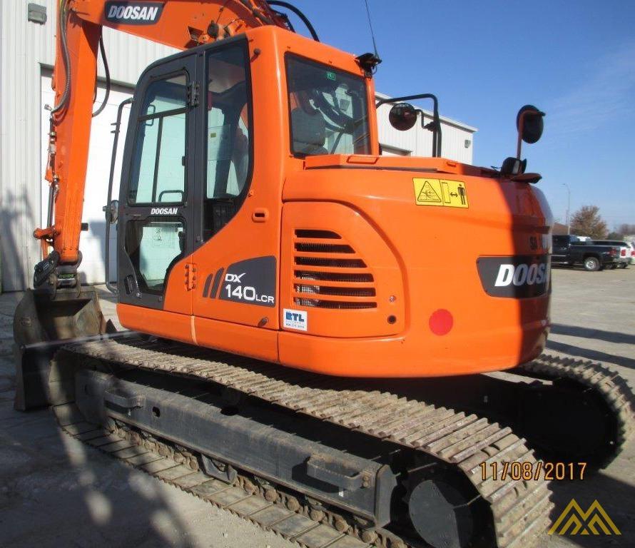 32,000 lb. Doosan DX140LCR-3 Hydraulic Excavator 2