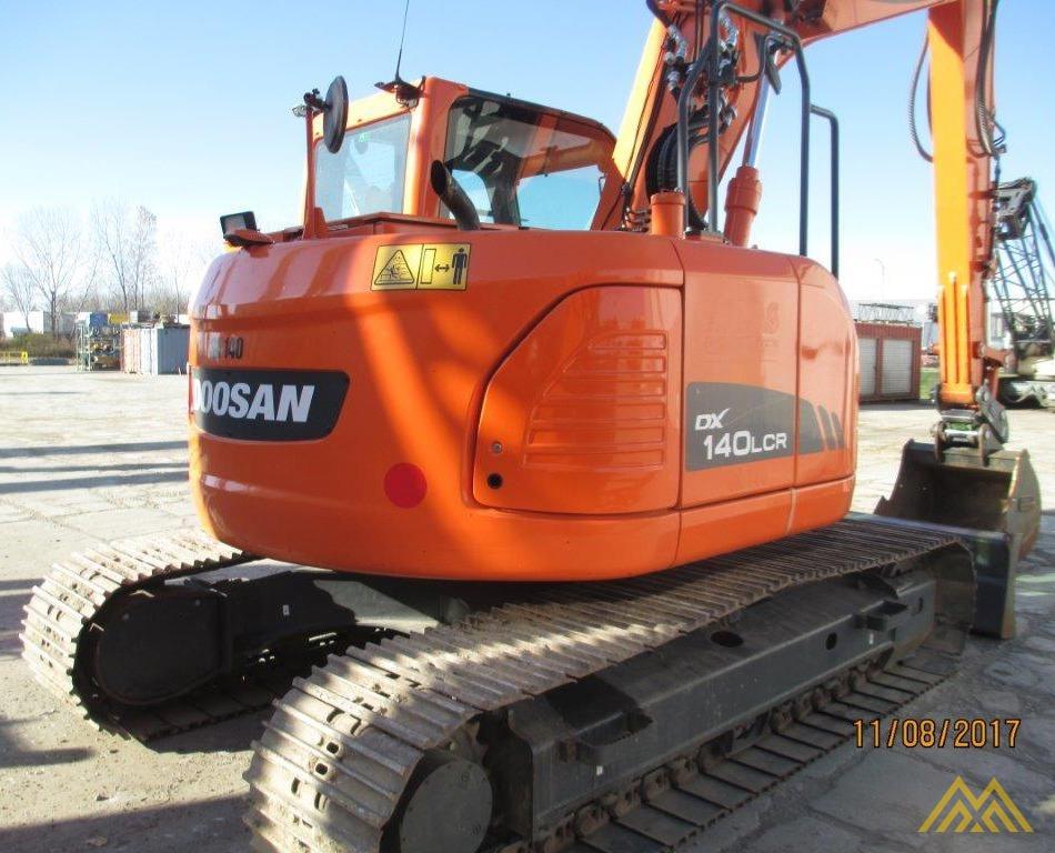 32,000 lb. Doosan DX140LCR-3 Hydraulic Excavator 3