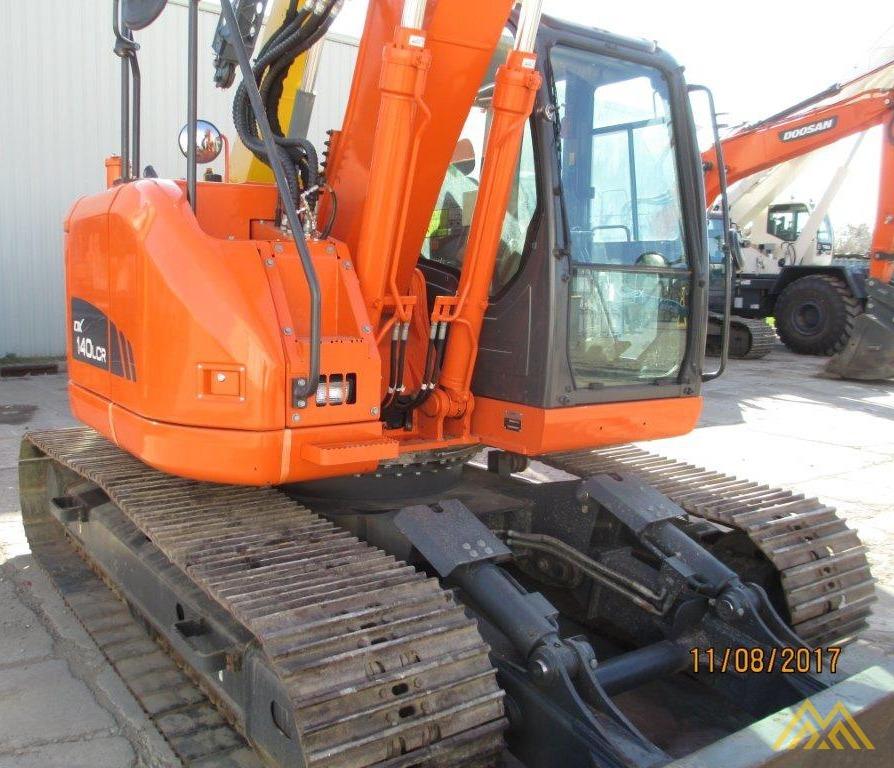 32,000 lb. Doosan DX140LCR-3 Hydraulic Excavator 4