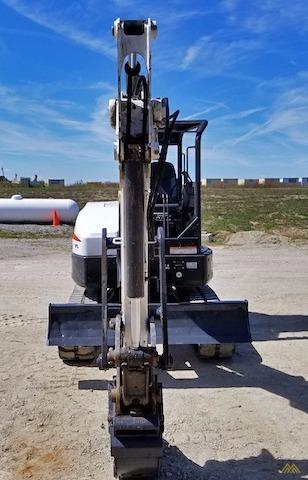 4,600 lb. Doosan E42 Mini Excavator 4