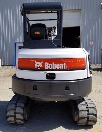 4,600 lb. Doosan E42 Mini Excavator 5