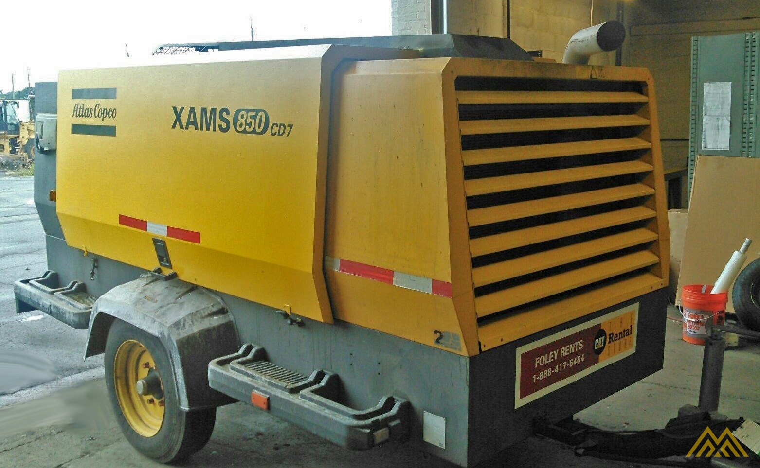 Atlas Copco XAMS 850 CD7 Air Compressor 0
