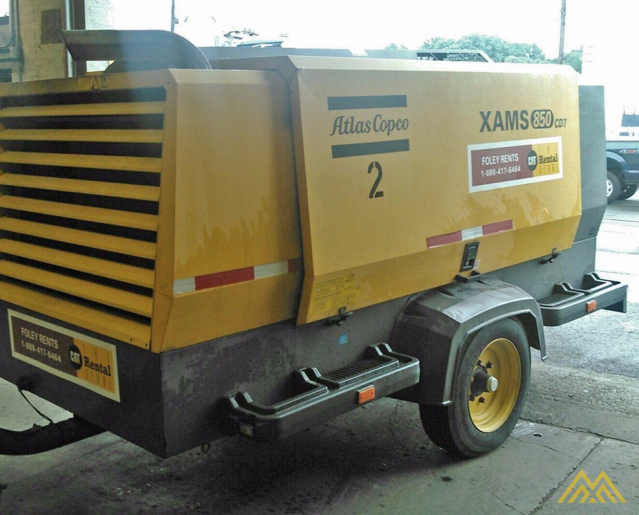 Atlas Copco XAMS 850 CD7 Air Compressor 1