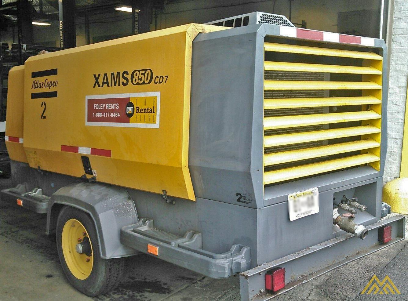 Atlas Copco XAMS 850 CD7 Air Compressor 2