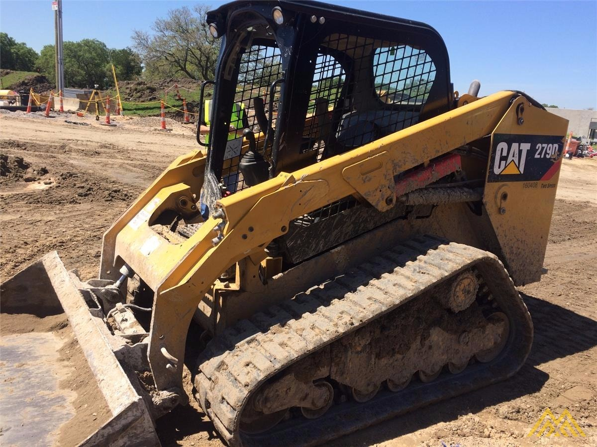 CAT 279D Compact Track Loader 0