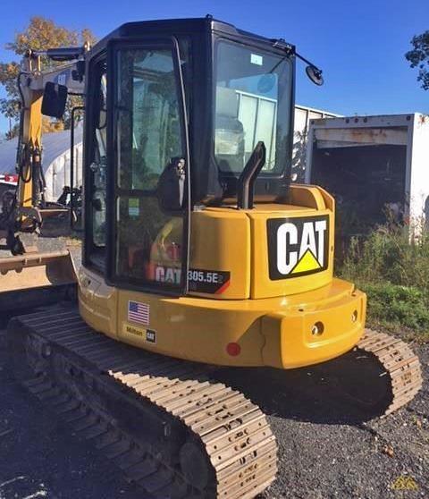 CAT 305.5E2 CR Mini Excavator 0