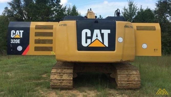 CAT 320E Crawler Excavator 1