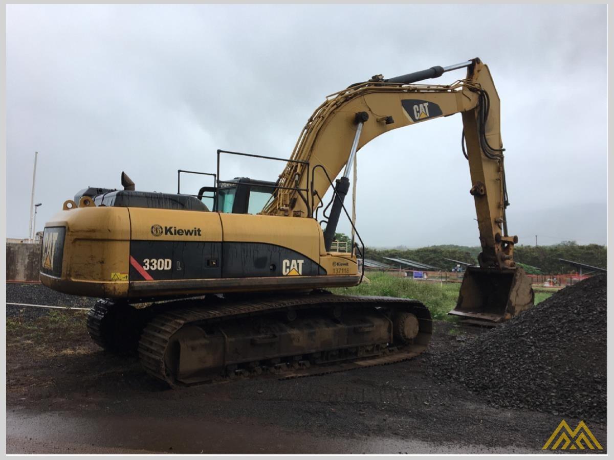 CAT 330D L Crawler Excavator 1