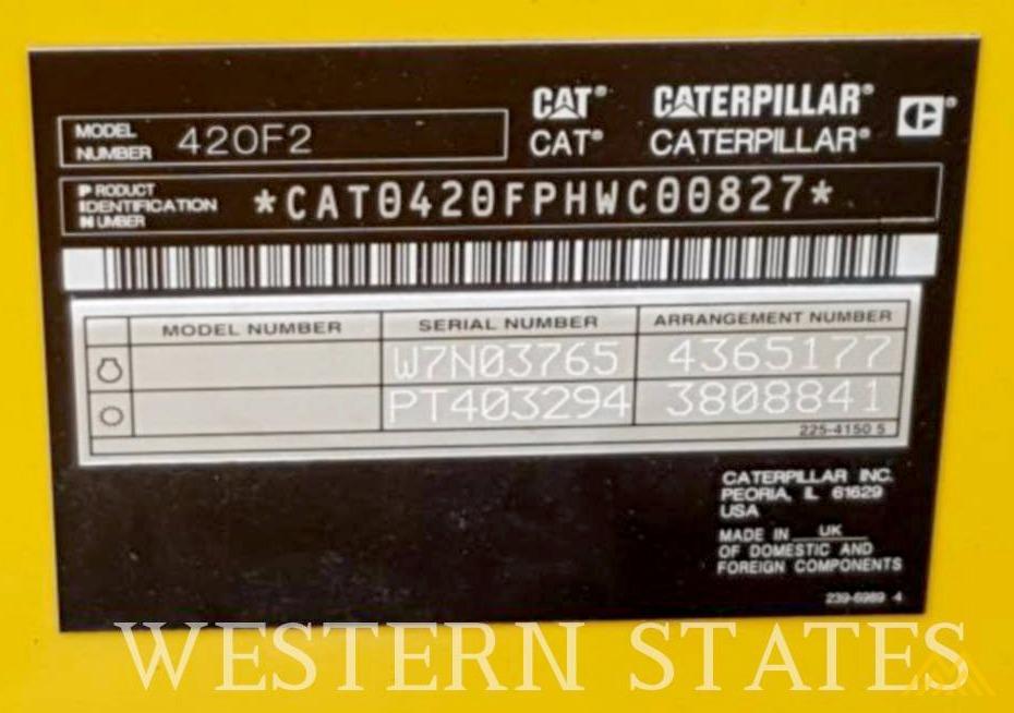 CAT 4202 ST Backhoe Wheel Loader in Idaho 3