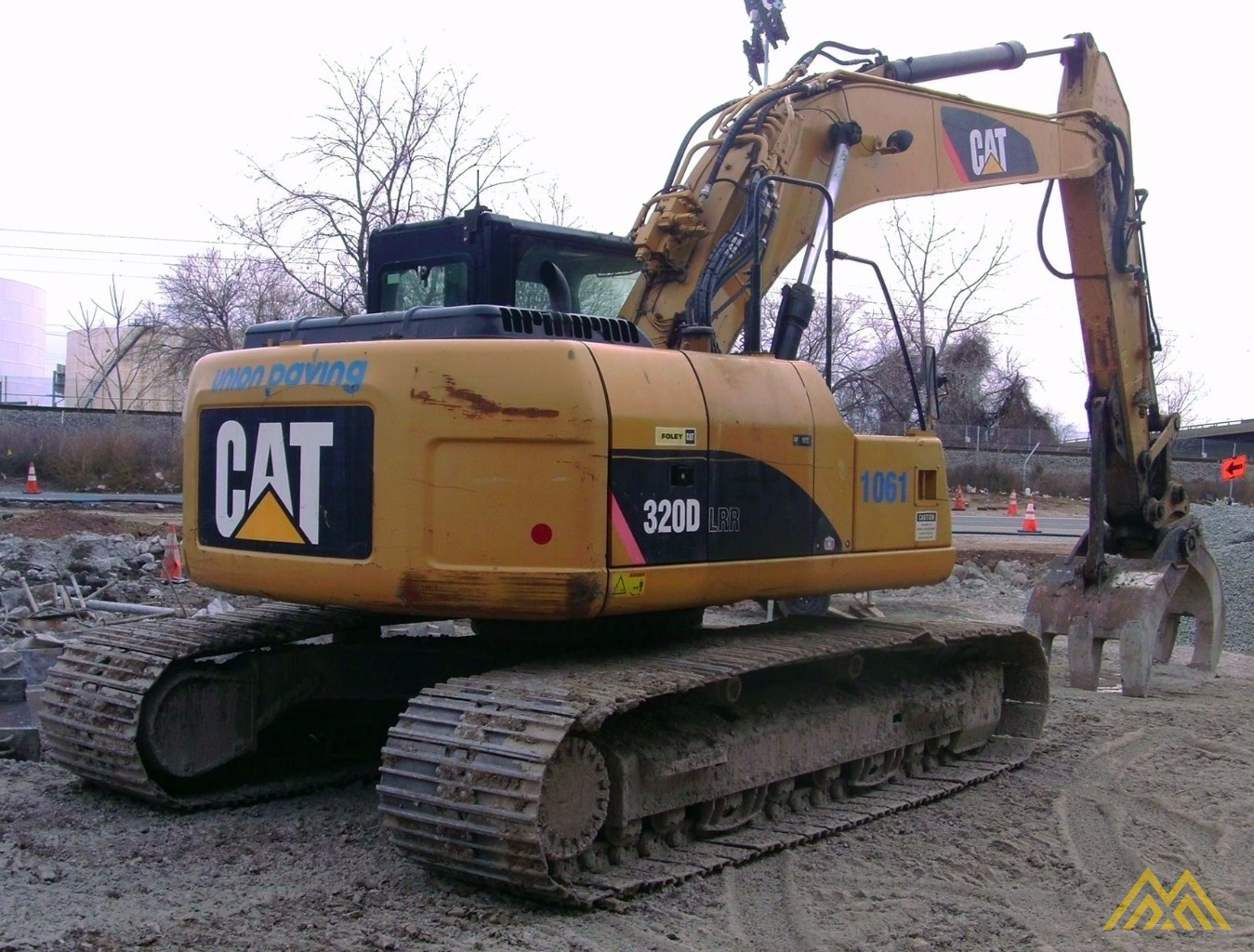 Caterpillar 320D LRR Excavator SOLD