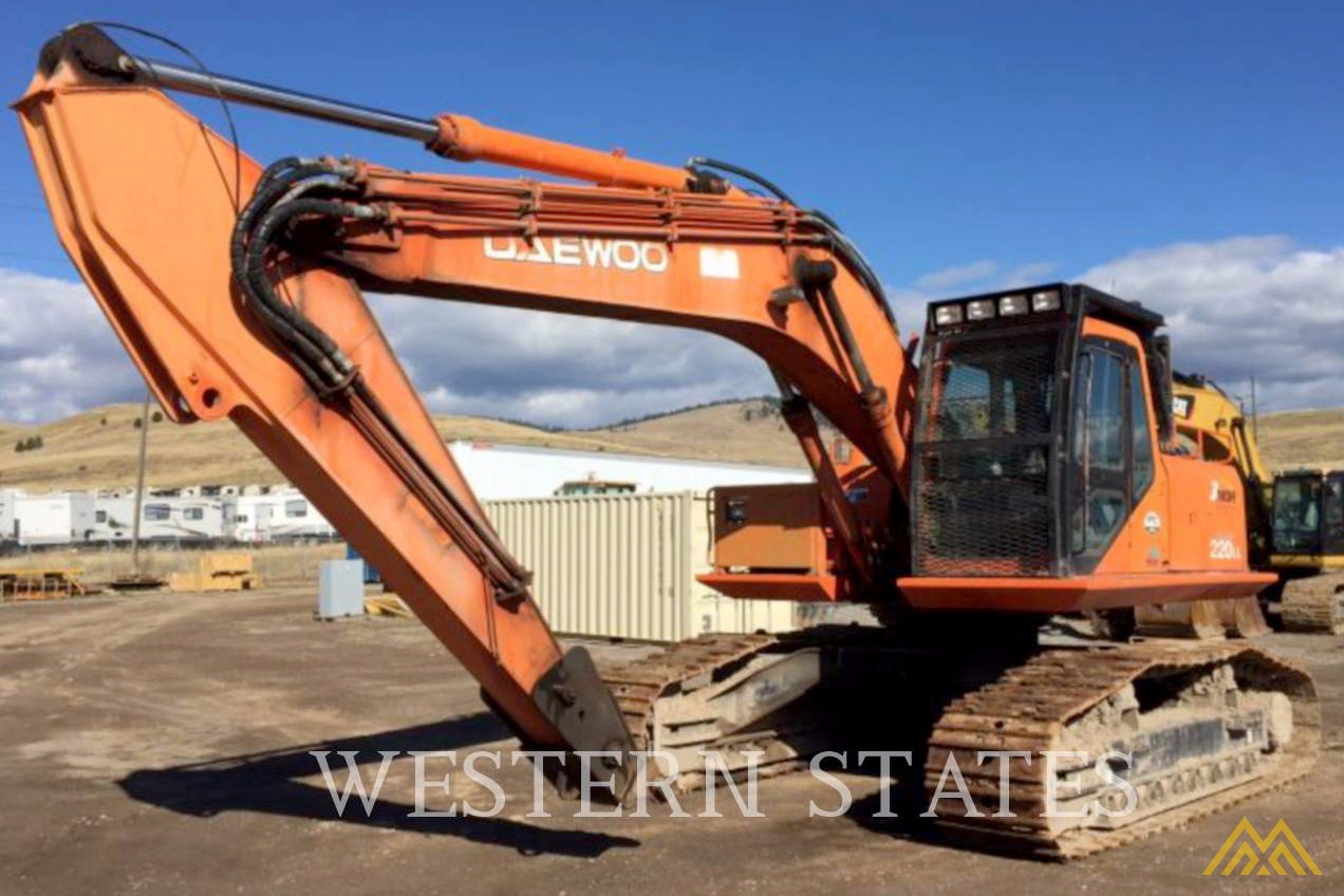 Daewoo Solar 220 LL Log Loader Excavator For Sale Excavators ...