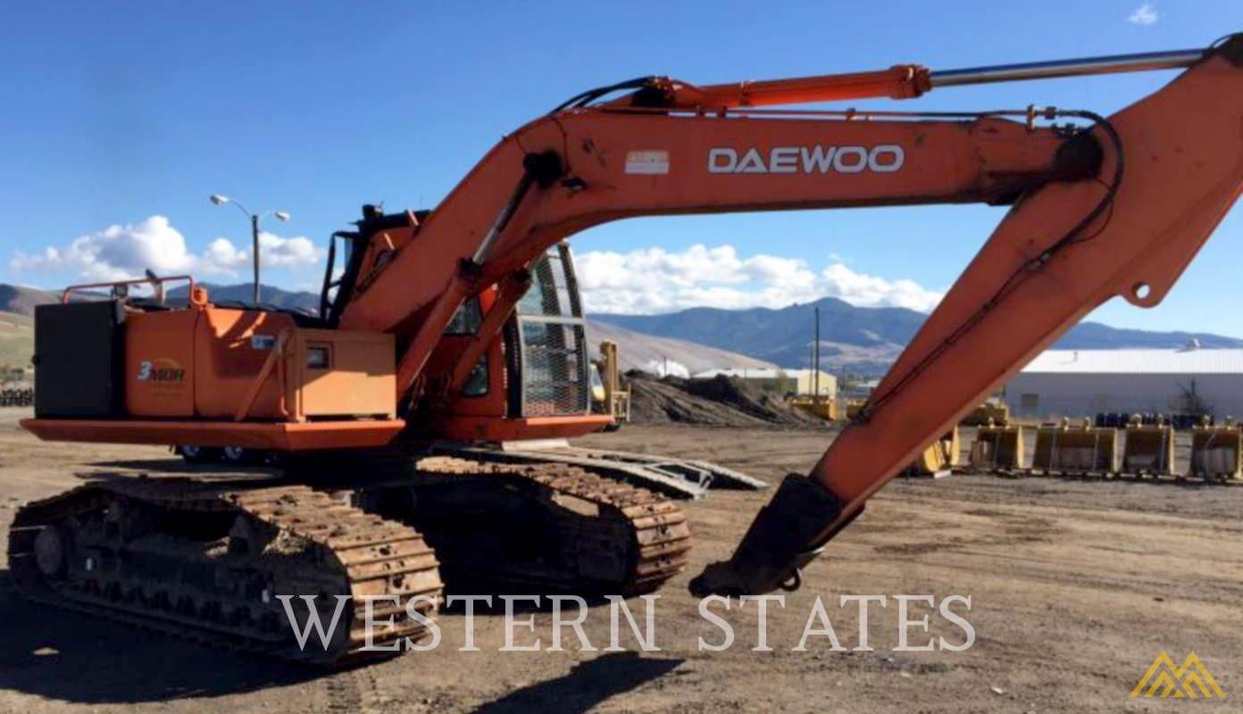 Daewoo Solar 220 LL Log Loader Excavator  1
