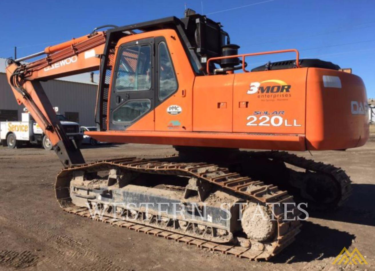 Daewoo Solar 220 LL Log Loader Excavator  2