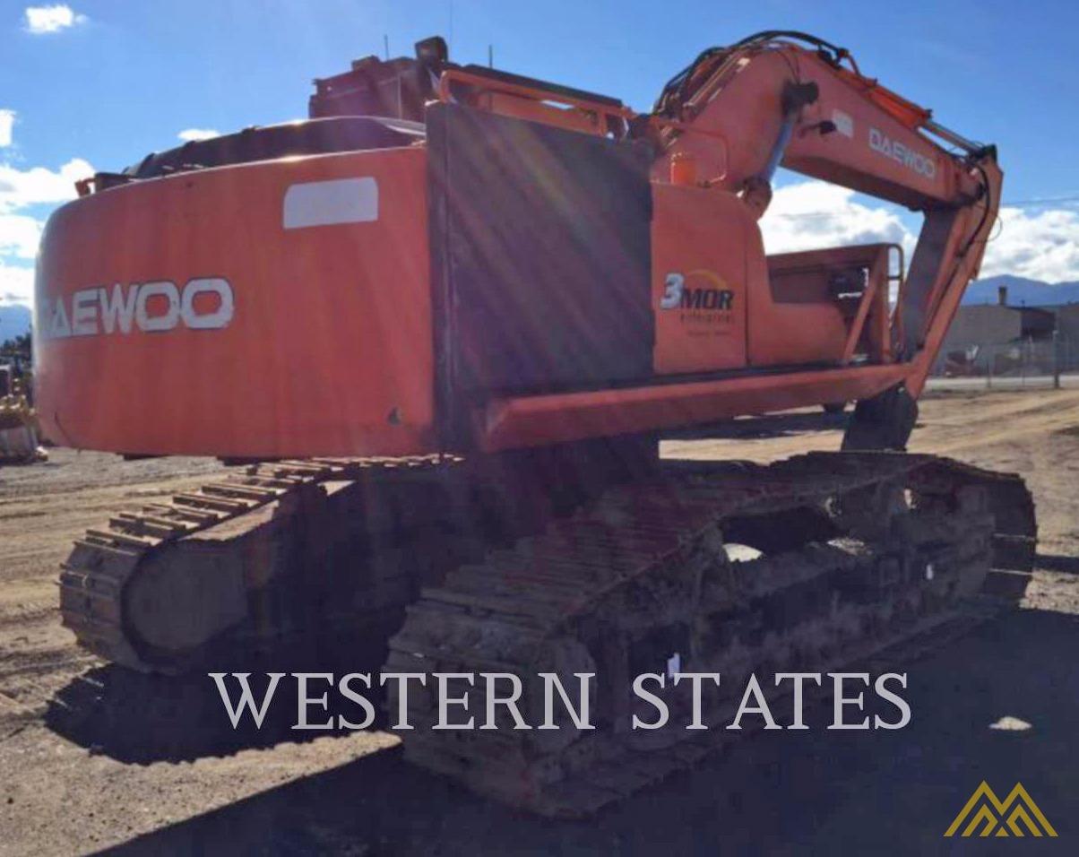 Daewoo Solar 220 LL Log Loader Excavator  3