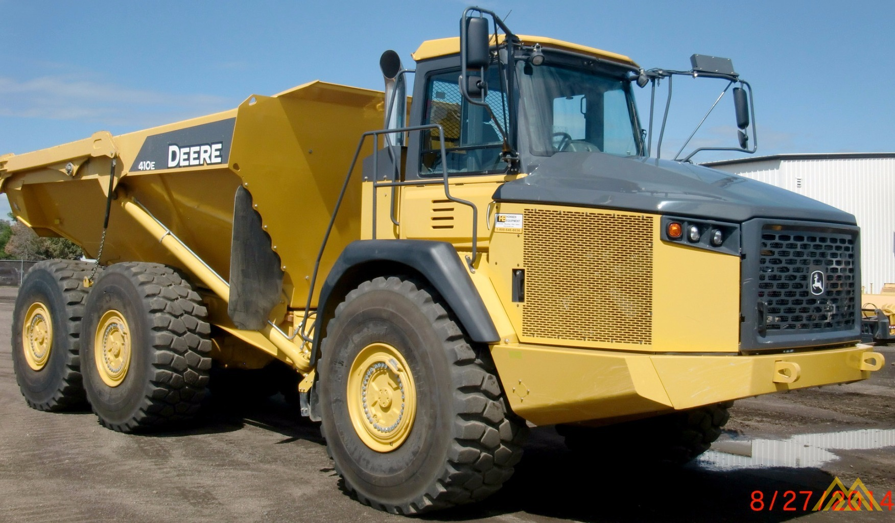 Deere 410E Articulating Dump Truck in Idaho Falls.  3