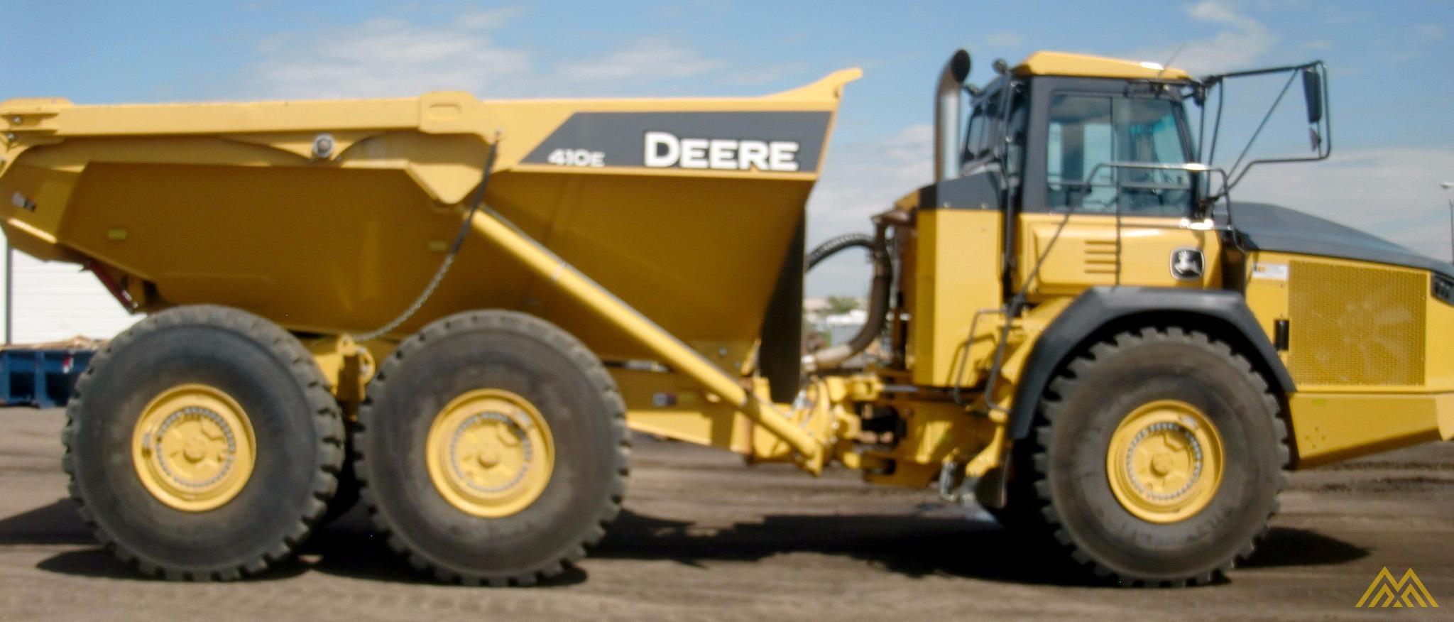 Deere 410E Articulating Dump Truck in Idaho Falls.  4