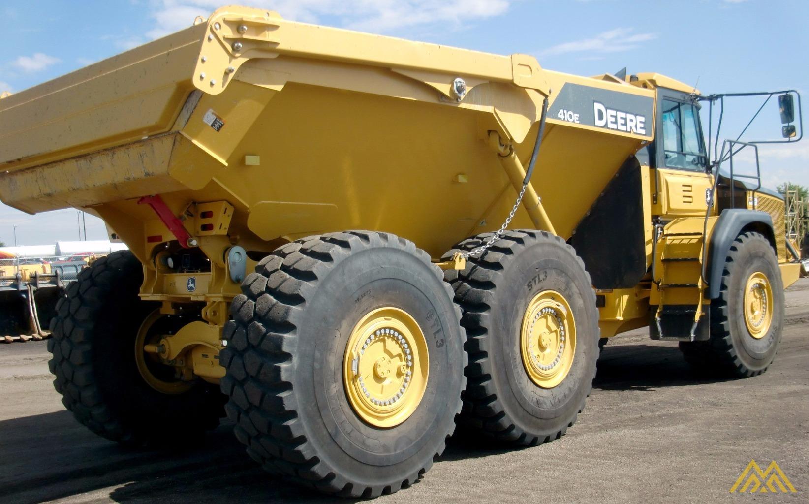 Deere 410E Articulating Dump Truck in Idaho Falls.  5