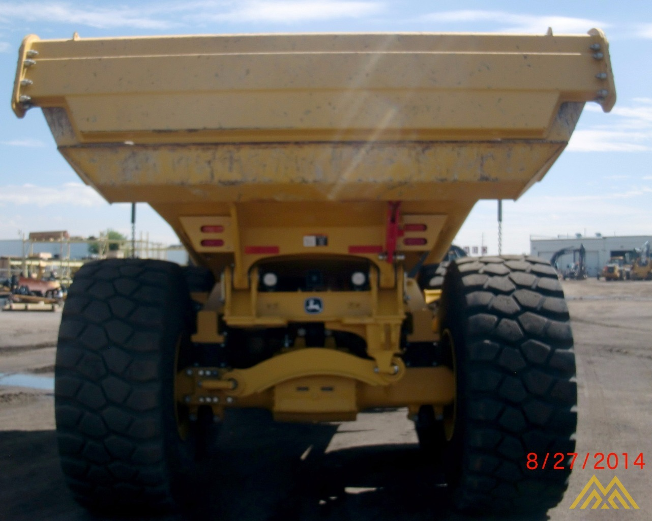 Deere 410E Articulating Dump Truck in Idaho Falls.  6