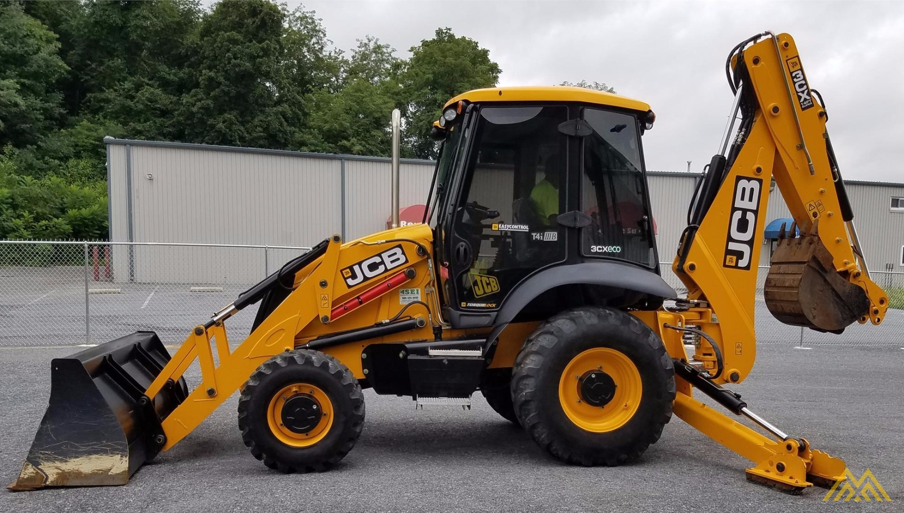 JCB 3CX14 Backhoe Loader 0