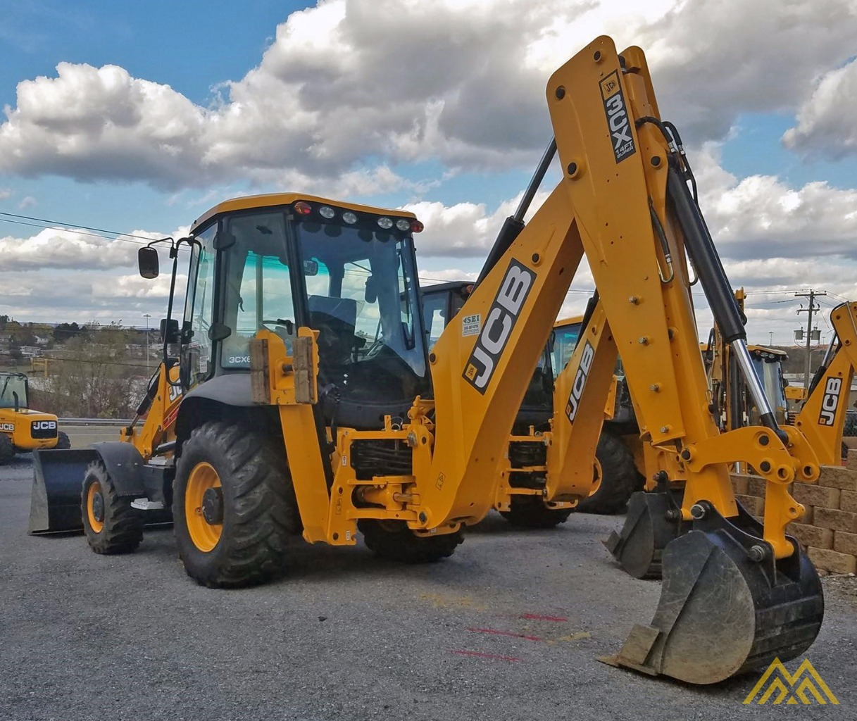 JCB 3CX14 Backhoe Loader 3