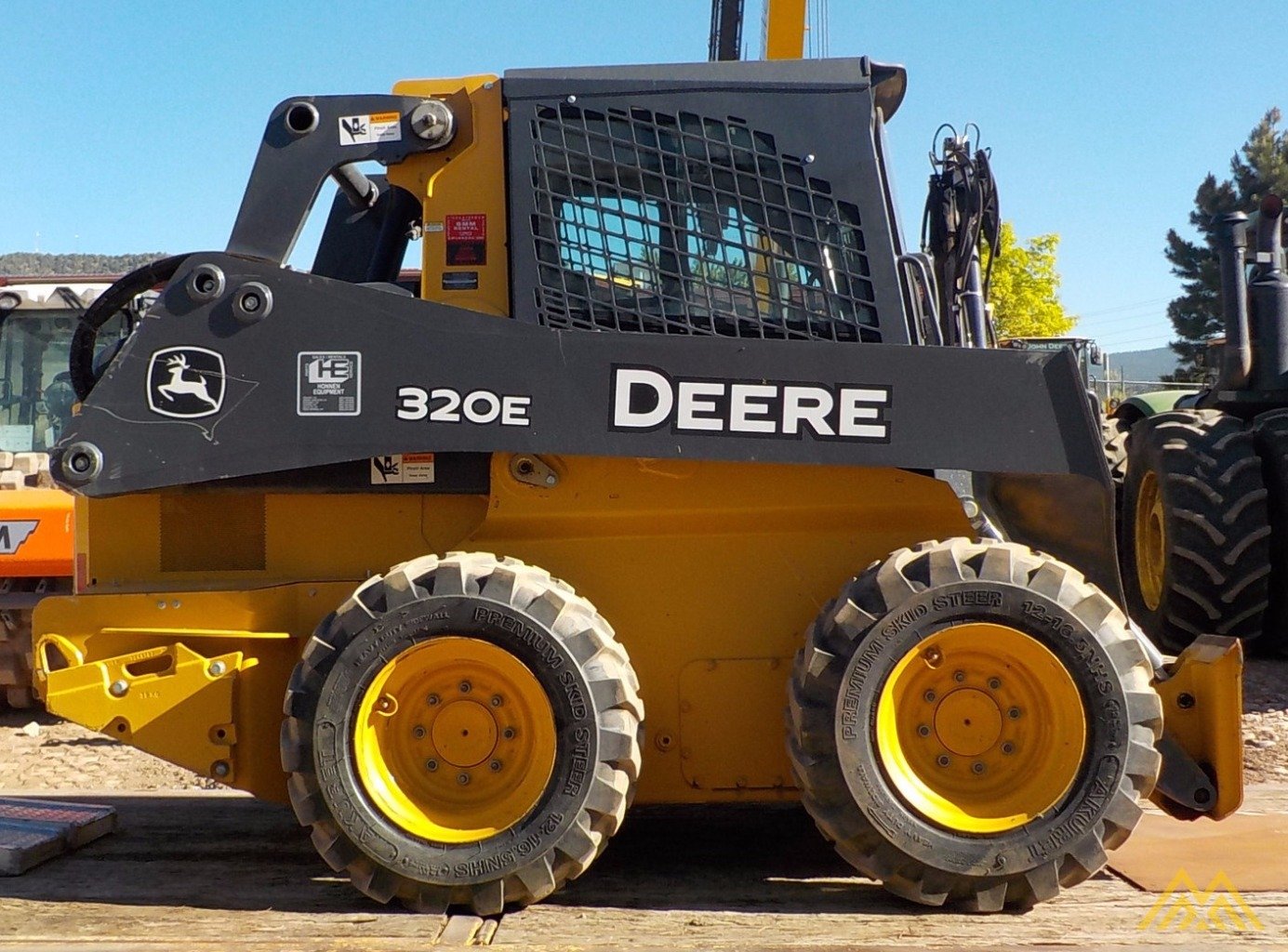 John Deere Skid Steer >> John Deere 320e Skid Steer Loader For Sale Loaders Earthmoving