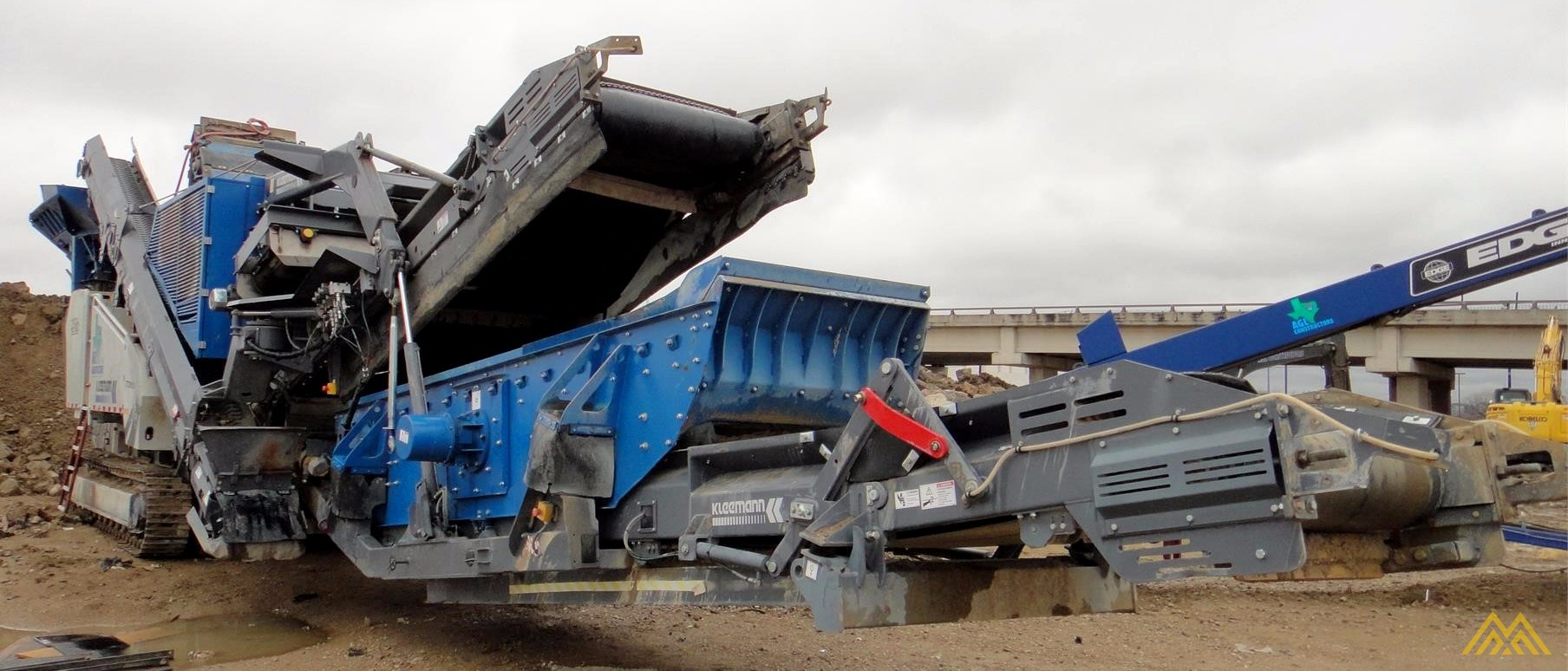 Kleeman MR 110 Zi EVO 2 Track Mounted Impact Crusher 0