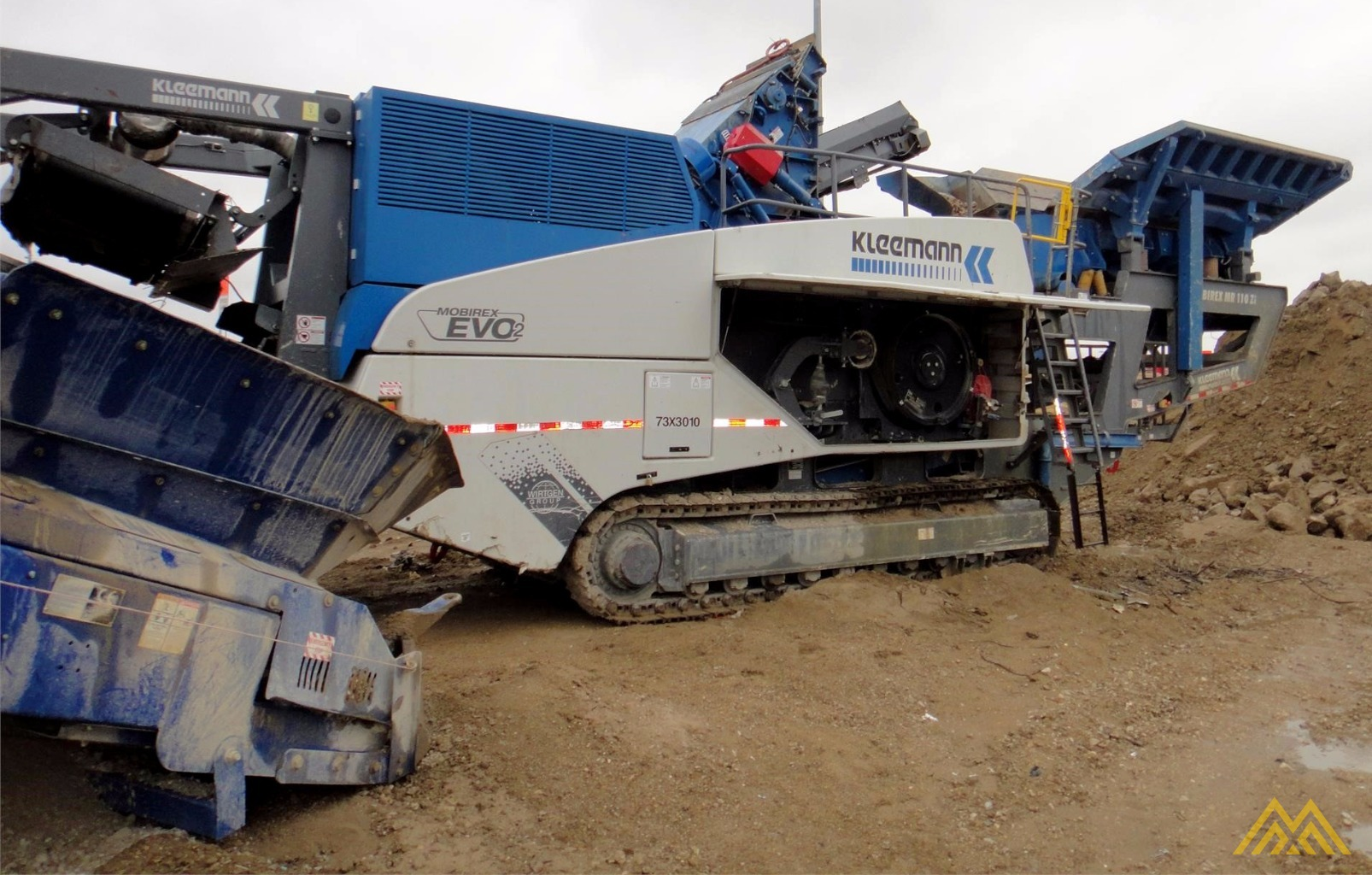 Kleeman MR 110 Zi EVO 2 Track Mounted Impact Crusher 1