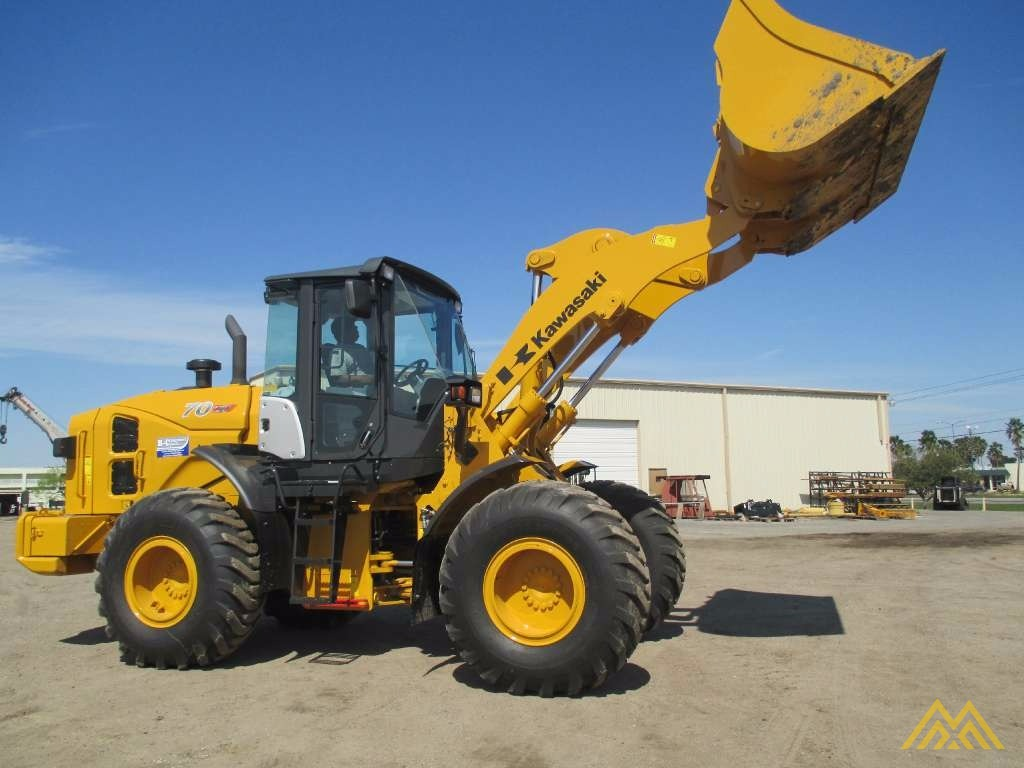 Low Hours!! KCM 70Z7 Wheel Loader 1