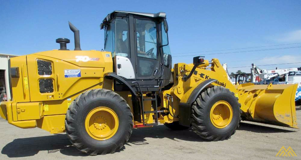 Low Hours!! KCM 70Z7 Wheel Loader 2
