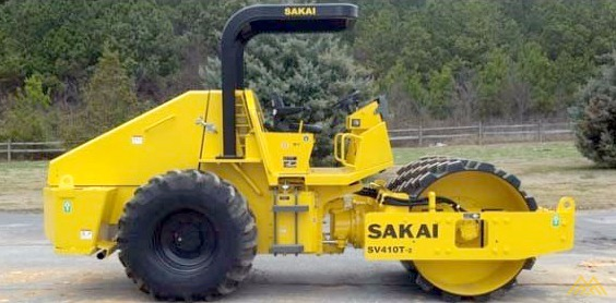 Low Hours!! Sakai SV410T-2 Padfoot Roller for Sale 0