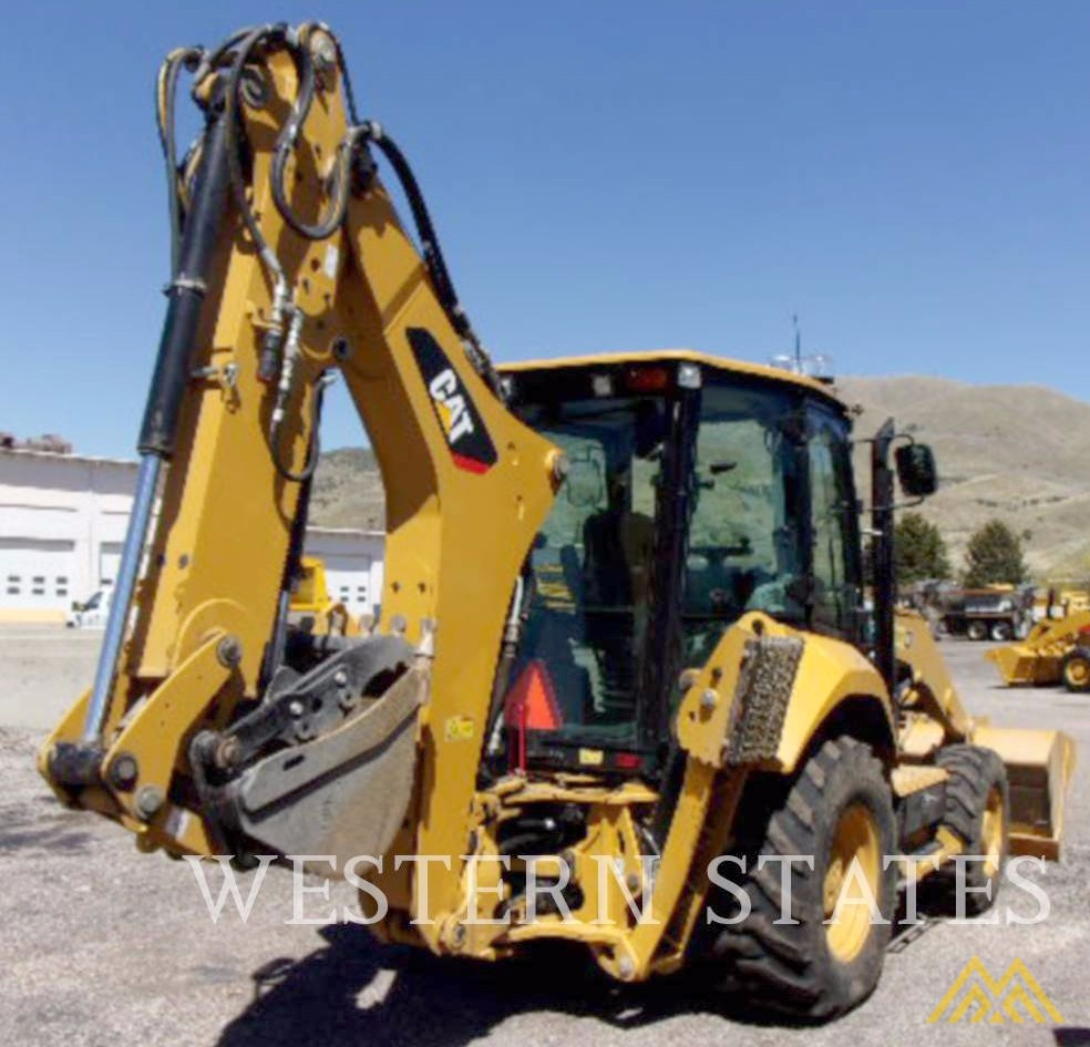 Low Hours on CAT 420F2 IT Backhoe Loader 1