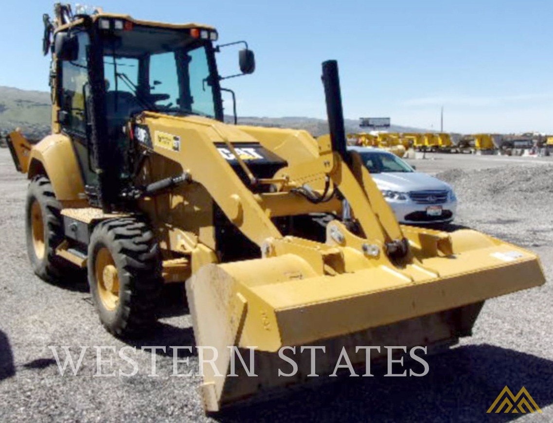 Low Hours on CAT 420F2 IT Backhoe Loader 9