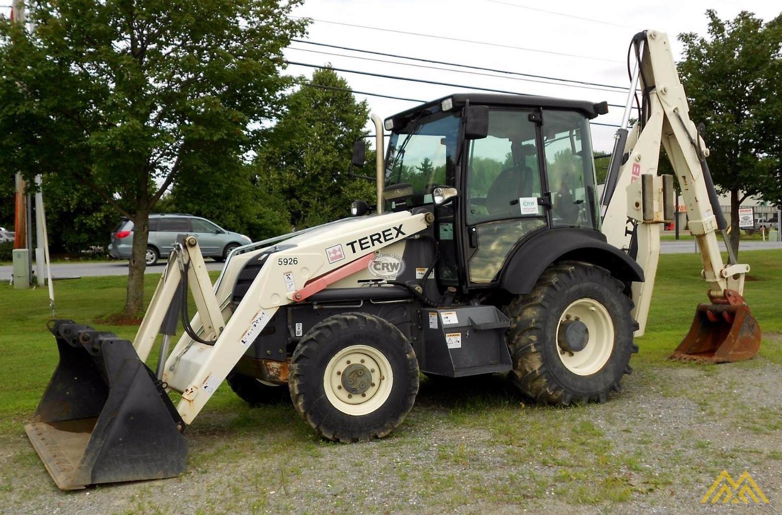 Low Hr!! 2010 Terex TX760B Backhoe Loader 0
