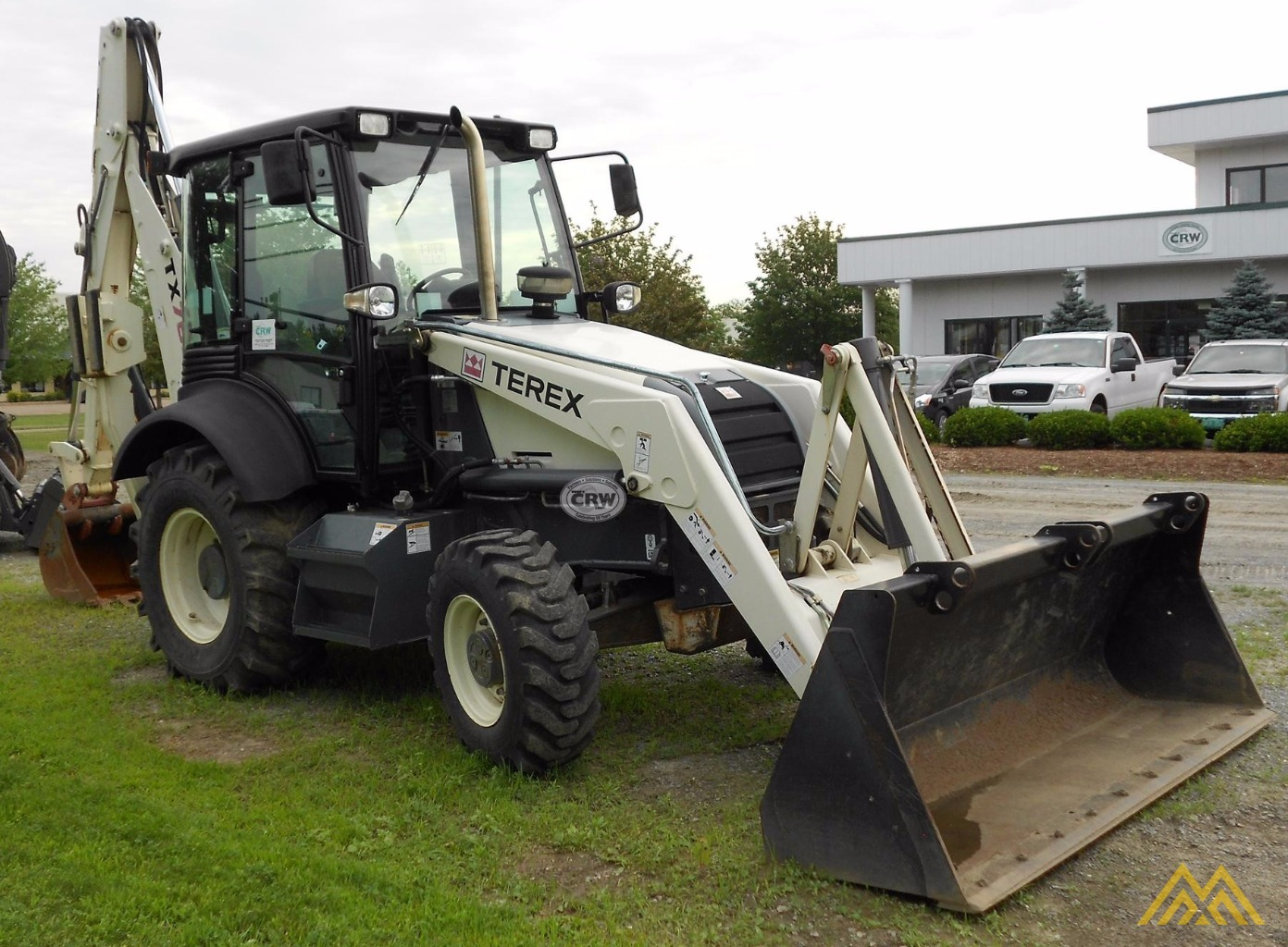 Low Hr!! 2010 Terex TX760B Backhoe Loader 1
