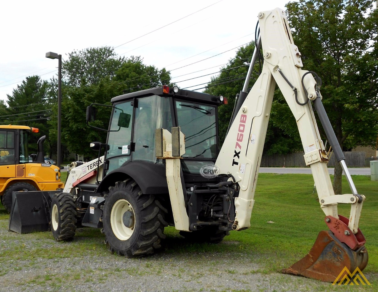 Low Hr!! 2010 Terex TX760B Backhoe Loader 2