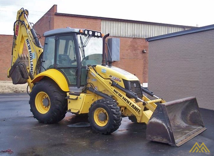 New Holland B95B Backhoe Loader 0