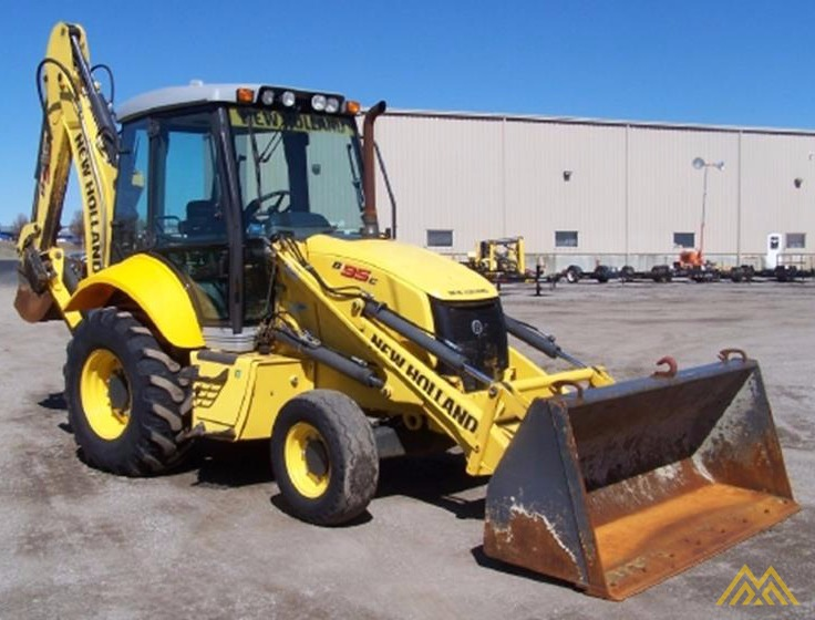 New Holland B95C Backhoe Loader 0